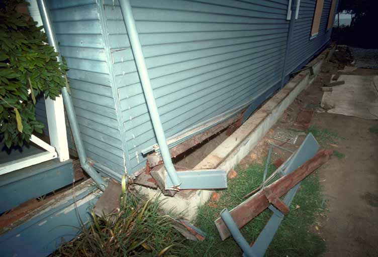 Foundation Damage On A House